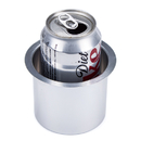 Brybelly Vivid Silver Aluminum Cup Holder