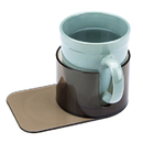 Brybelly Jumbo Plastic Cup Holder with Cutout