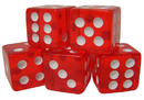 Brybelly 25 Red Dice - 16 mm