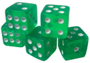 Brybelly 100 Green Dice - 16 mm