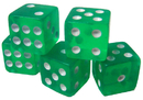Brybelly 25 Green Dice - 16 mm