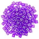 Brybelly 100 Purple Dice - 16 mm