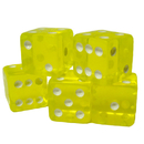 Brybelly 100 Yellow Dice - 16 mm