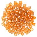 Brybelly 100 Orange Dice - 16 mm