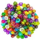 Brybelly 100+ Pack of Random Polyhedral Dice, Series II