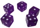 Brybelly 5 Purple Dice - 19 mm