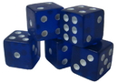 Brybelly 25 Blue Dice - 19 mm