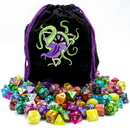Brybelly Bag of Devouring: 140 Polyhedral Dice in 20 Complete Sets