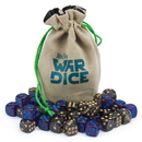Brybelly Set of 40 12mm War Dice, Galactic Conquest