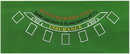Brybelly Blackjack Green Table Felt
