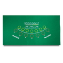 Brybelly Green Baccarat Casino Table Felt Layout