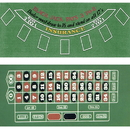 Brybelly Blackjack and Roulette Table Felt