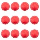 Brybelly Pack of 12 Red Textured Foosballs
