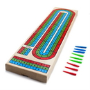 Brybelly Wooden 3 Track Cribbage Board