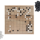 Brybelly Game of Go Set with Wooden Board and Complete Set of Stones