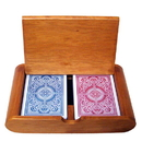 Brybelly Wooden Box Set Arrow Red/Blue Wide Regular