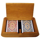 Brybelly Wooden Box Set Paisley Narrow Jumbo