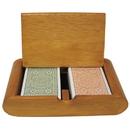 Brybelly Modiano Club Bridge Green/Brown Regular Box Set