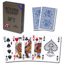 Brybelly Modiano Golden Trophy Poker Playing Cards - Blue