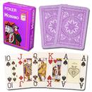 Brybelly Modiano Cristallo Poker Size, 4 PIP Jumbo Purple