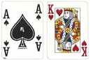 Brybelly Single Deck Used in Casino Playing Cards - Four Queens