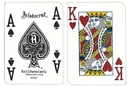Brybelly Single Deck Used in Casino Playing Cards - Silverton