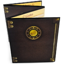 Brybelly The Master's Tome Customizable DM Screen, Black
