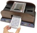 Brybelly 2 Deck Wooden Deluxe Card Shuffler