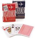 Brybelly Aviator Poker, Standard Index, 12 Decks Red Blue