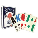 Brybelly Bicycle EZ See Lo-Vision, 12 Decks Red/Blue