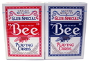 Brybelly Bee No. 92 Diamond Back Club Special Red/Blue Decks