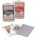 Brybelly Bee Poker, Standard Index, 12 Decks Red/Blue