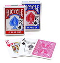 Brybelly Bicycle Poker Jumbo Index, 12 Decks Red/Blue