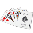 Brybelly 100% Plastic Bicycle Prestige Blue Poker Size Playing Cards