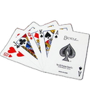 Brybelly 100% Plastic Bicycle Prestige Red Poker Size Playing Cards