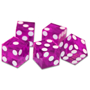 Brybelly (5) New Vlt 19mm Grd A Precision Dice w/Matching Serial #s