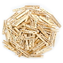 Brybelly Wooden Spring Clothespins, 100-pack
