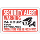 Brybelly Security Alert Sign 18