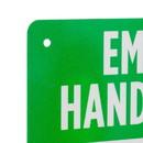 Brybelly Employee Hand Washing Aluminum Sign