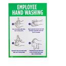 Brybelly Employee Hand Washing Self-Adhesive Decal