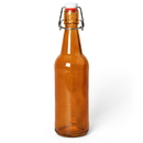Brybelly 16.9 Oz Amber Glass Bottles