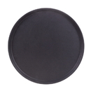 Brybelly Round Rubber-lined Serving Tray, 14-inch