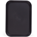 Brybelly 10x14 Cafeteria Tray, Black