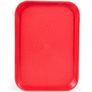 Brybelly 10x14 Cafeteria Tray, Red