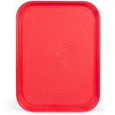 Brybelly 12x16 Cafeteria Tray, Red
