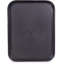Brybelly 14x18 Cafeteria Tray, Black