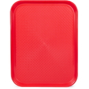 Brybelly 14x18 Cafeteria Tray, Red