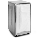Brybelly Spring-Load Stainless Steel Tall-Fold Napkin Dispenser