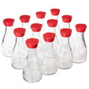 Brybelly KTBL-707 148mL Soy Sauce Bottles, 12-pack (Red)