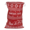 Brybelly Santa's Toy Bag - Reusable Christmas Gift Bag